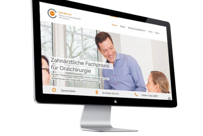 Website für das CCZ Münster
